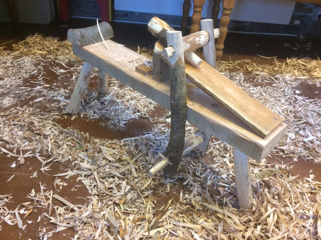 A shave horse that I made