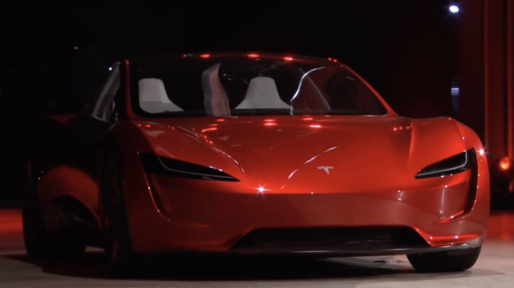 The Tesla Roadster 2